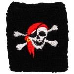 Schweißband Pirat