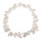 Blumenkette Weiß