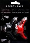 Taschenlampe Lichtkraft Fahrrad Silikon LED-Leuchten