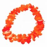 Blumenkette Orange